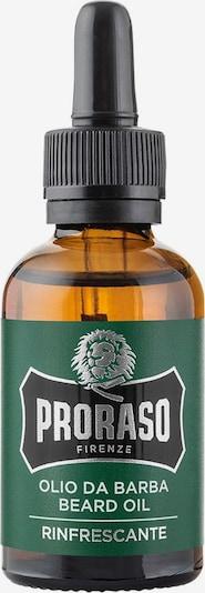 Proraso Bartöl in braun / dunkelgrün / schwarz / silber, Produktansicht