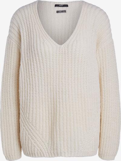 SET Širok pulover | volneno bela barva, Prikaz izdelka