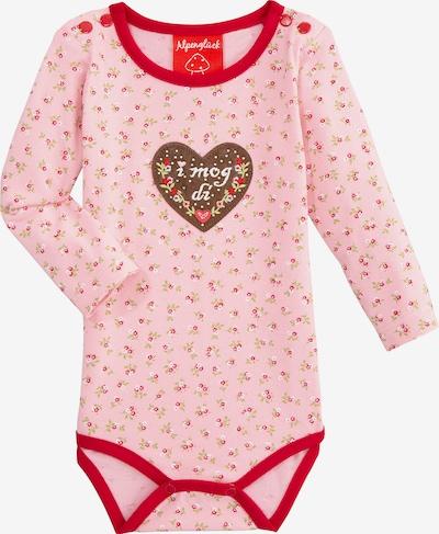 BONDI Body in braun / rosa / rot / weiß, Produktansicht