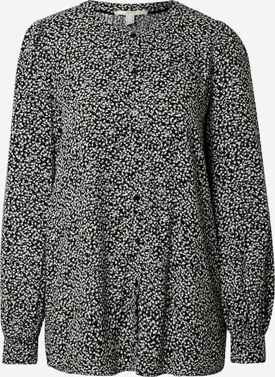 ESPRIT Bluse in pastellgrün / schwarz / weiß, Produktansicht