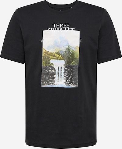 ADIDAS PERFORMANCE Funkčné tričko 'MOUNTAIN' - zmiešané farby / čierna, Produkt