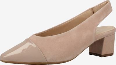 PETER KAISER Slingpumps in de kleur Crème, Productweergave