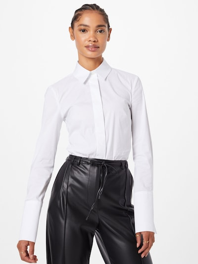 Bluză body PATRIZIA PEPE pe alb, Vizualizare model