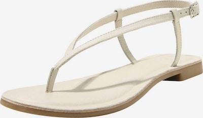 INUOVO Zehentrenner in weiß, Produktansicht