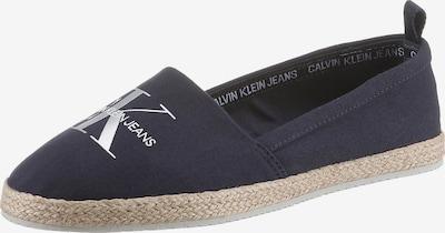 Espadrillas Calvin Klein di colore marino / bianco, Visualizzazione prodotti