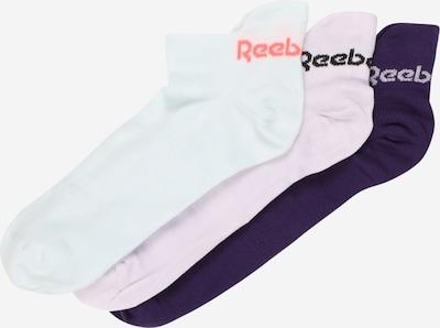 REEBOK Sportsokken 'TECH STYLE' in de kleur Lila / Donkerlila / Wit, Productweergave