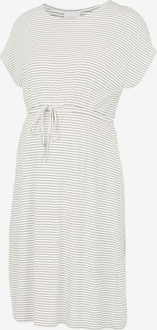 MAMALICIOUS Kleit 'Alison', värv valge