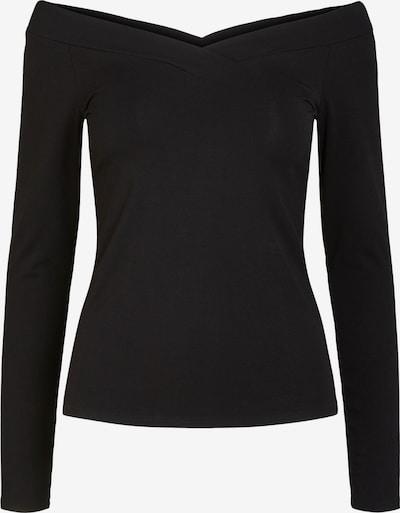 Tricou PIECES pe negru, Vizualizare produs