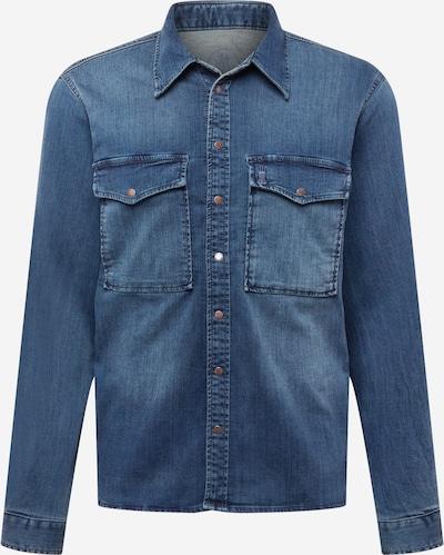 Herrlicher Hemd 'Eddy' in blue denim, Produktansicht