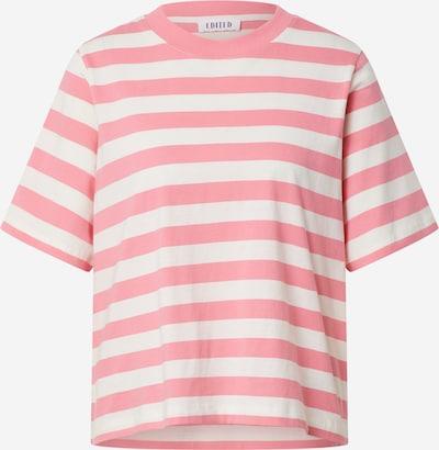 Tricou 'Nola' EDITED pe roz închis / alb, Vizualizare produs