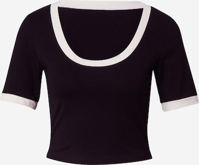 Tricou 'Flora' ABOUT YOU x MOGLI pe negru, Vizualizare produs