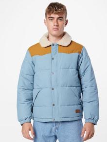 QUICKSILVER jakna u plavoj / konjak / prirodno bijeloj boji