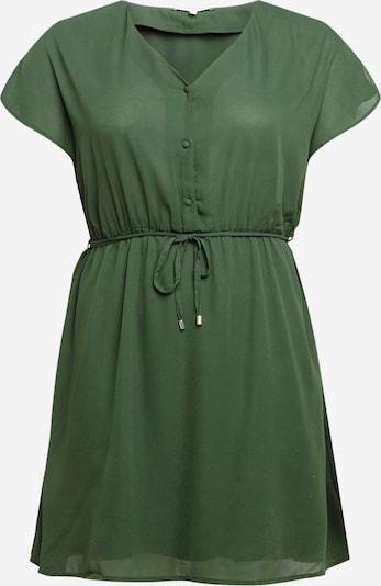 ABOUT YOU Curvy Kleid 'Evelin' in grün, Produktansicht