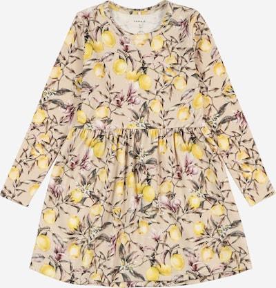 NAME IT Sukienka 'NMFDANSY' w kolorze beżowy / żółty / stary różm, Podgląd produktu