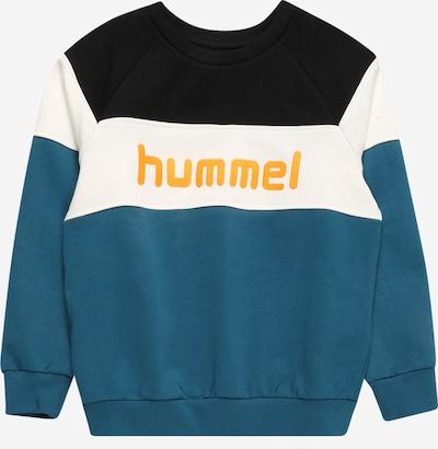 Hummel Sweatshirt in blau / orange / schwarz / weiß, Produktansicht
