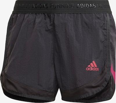 ADIDAS PERFORMANCE Pantalon de sport 'Ultra' en anthracite / rose, Vue avec produit