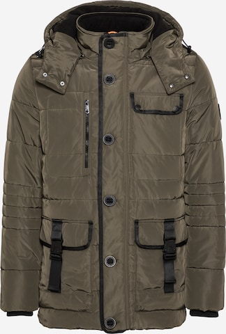 Q/S by s.Oliver Winterparka in Groen