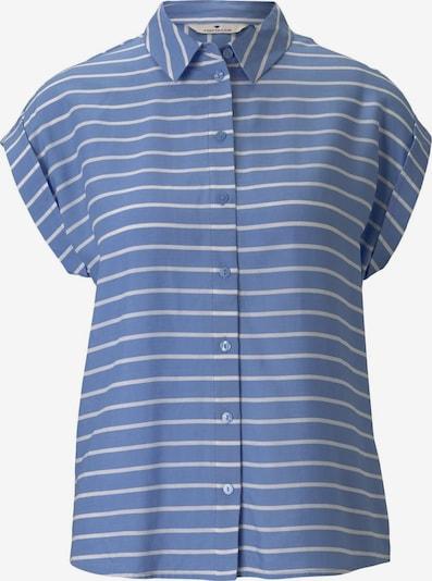 TOM TAILOR Blusa en azul / blanco, Vista del producto