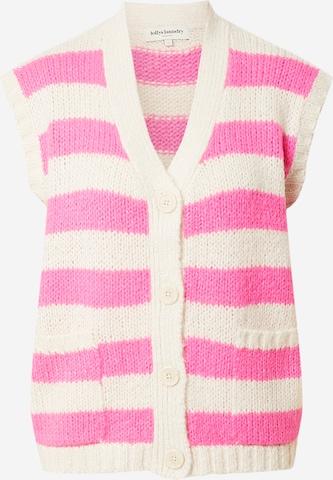 Lollys Laundry Weste 'Celine' in Pink
