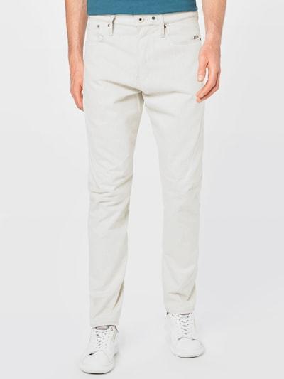G-Star RAW Jeans 'Scutar' in white denim, Modelansicht