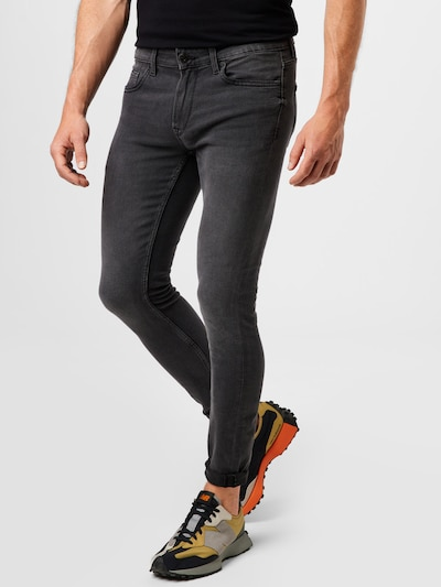 Only & Sons Jeans 'Warp' in black denim, Modelansicht