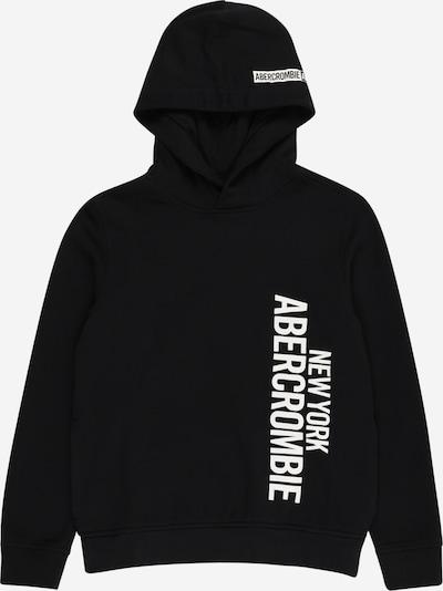 Abercrombie & Fitch Sweatshirt in schwarz / weiß, Produktansicht
