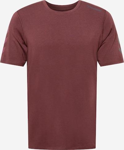 Tricou funcțional 'MACE' Hummel pe gri închis / roșu vin, Vizualizare produs