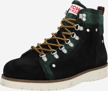 SCOTCH & SODA Boots med snörning 'Levant' i svart