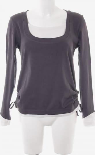 CECIL Sweatshirt in L in dunkelgrau / weiß, Produktansicht