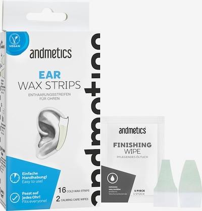 Andmetics Set 'Ear Wax Strips' in weiß, Produktansicht