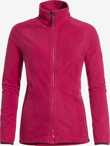 VAUDE Fleece Jacket in Red