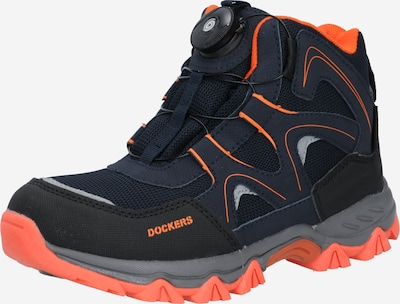 Dockers by Gerli Sneaker in navy / orange / schwarz, Produktansicht