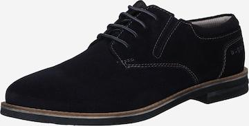 bugatti Обувки с връзки 'Ventur' в синьо