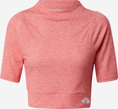 THE NORTH FACE Functioneel shirt 'VYTRUE' in de kleur Watermeloen rood / Wit, Productweergave