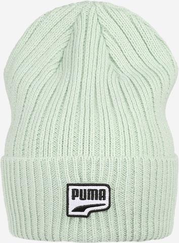 žalia PUMA Sportinė kepurė