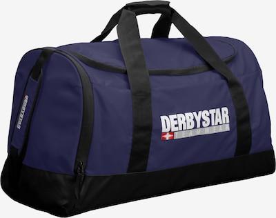 DERBYSTAR Sporttasche in dunkelblau / grau / rot / schwarz / weiß, Produktansicht