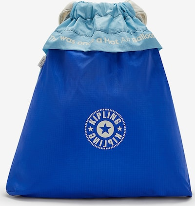 KIPLING Turnbeutel 'Hot Air' in pastellblau / hellblau / weiß, Produktansicht