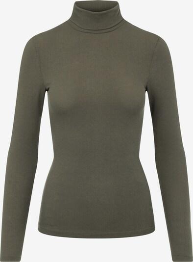 PIECES Shirt in dunkelgrün, Produktansicht
