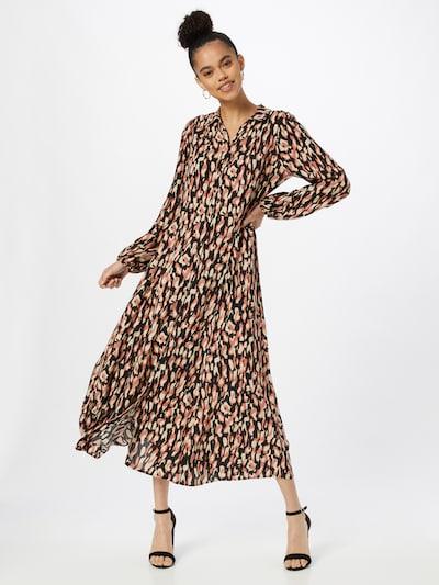 Soyaconcept Shirt Dress 'TIFA 3' in Beige / Melon / Black, View model
