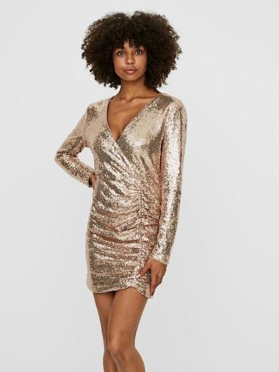 VERO MODA Kleid in gold, Modelansicht