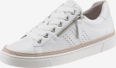 GABOR Sneaker in beige / weiß, Produktansicht
