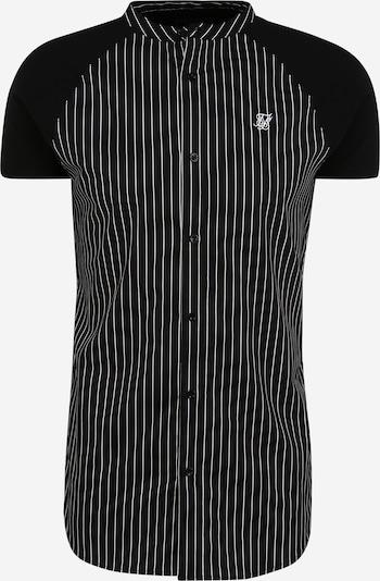 SikSilk Košile - černá / bílá, Produkt