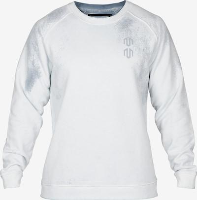 MOROTAI Sportsweatshirt 'Batech' in grau / weiß, Produktansicht