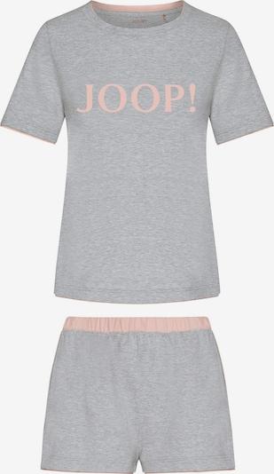 JOOP! Korte pyjama in de kleur Grijs gemêleerd / Rosa, Productweergave