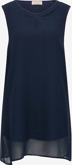 TRIANGLE Top in dunkelblau, Produktansicht