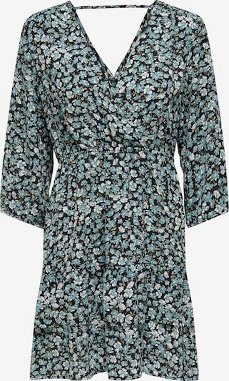 ONLY Kleid 'Fuchsia' in türkis / taubenblau / schwarz, Produktansicht