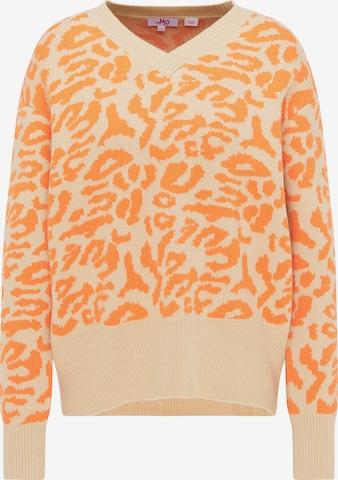 MYMO Oversized Sweater in Beige
