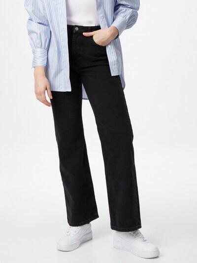 NA-KD Jeans in black denim, View model