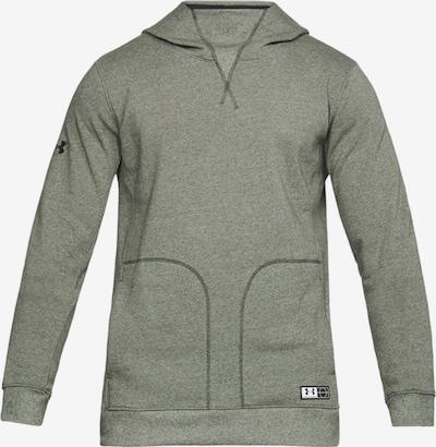 UNDER ARMOUR Sweatshirt in grün: Frontalansicht