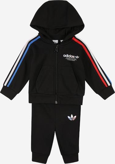 ADIDAS ORIGINALS Joggingpak in de kleur Blauw / Rood / Zwart / Wit, Productweergave
